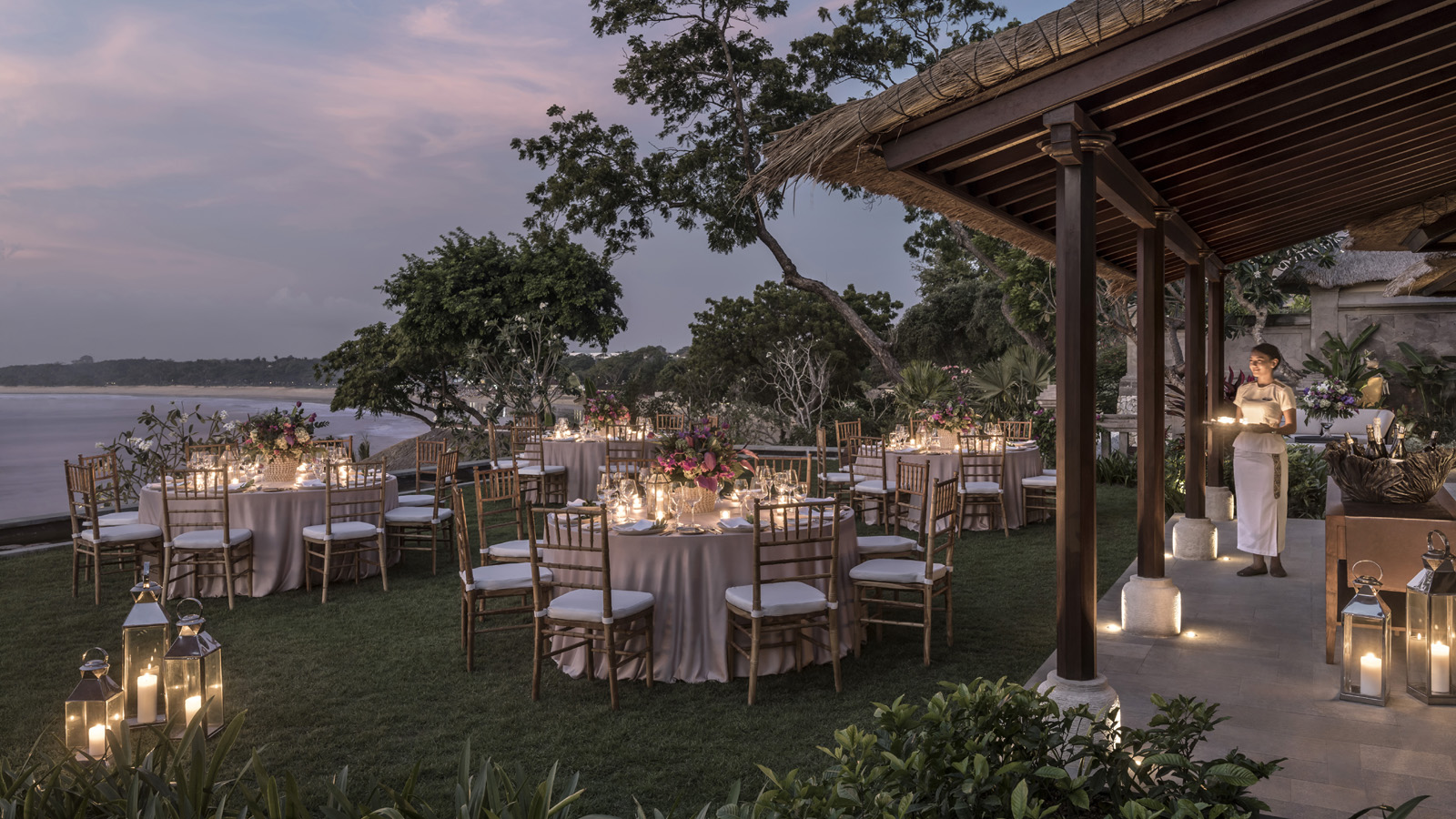 Function Room Imperial Villa Lawn in Four Seasons Resort Bali at Jimbaran Bay