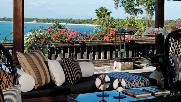 Terrace Bar and Lounge at Four Seasons Resort Bali at Jimbaran Bay