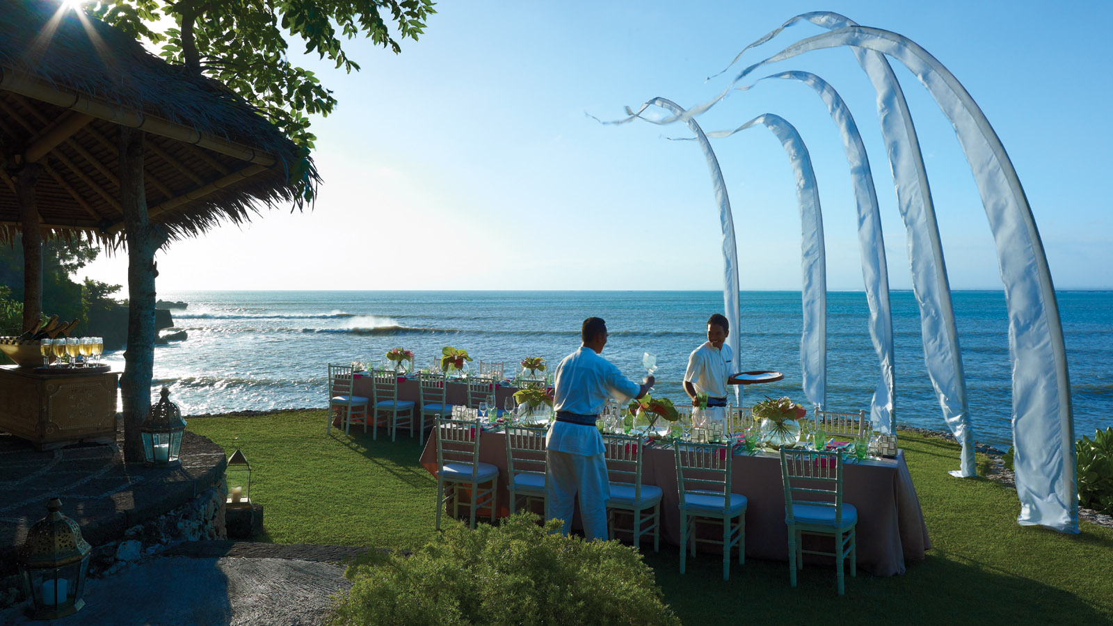 Island Gazebo in Four Seasons Resort Bali at Jimbaran Bay