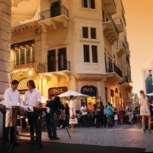 A Walking Tour of Downtown Beirut