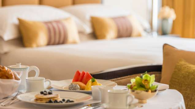 Room Service at Four Seasons Hotel Doha