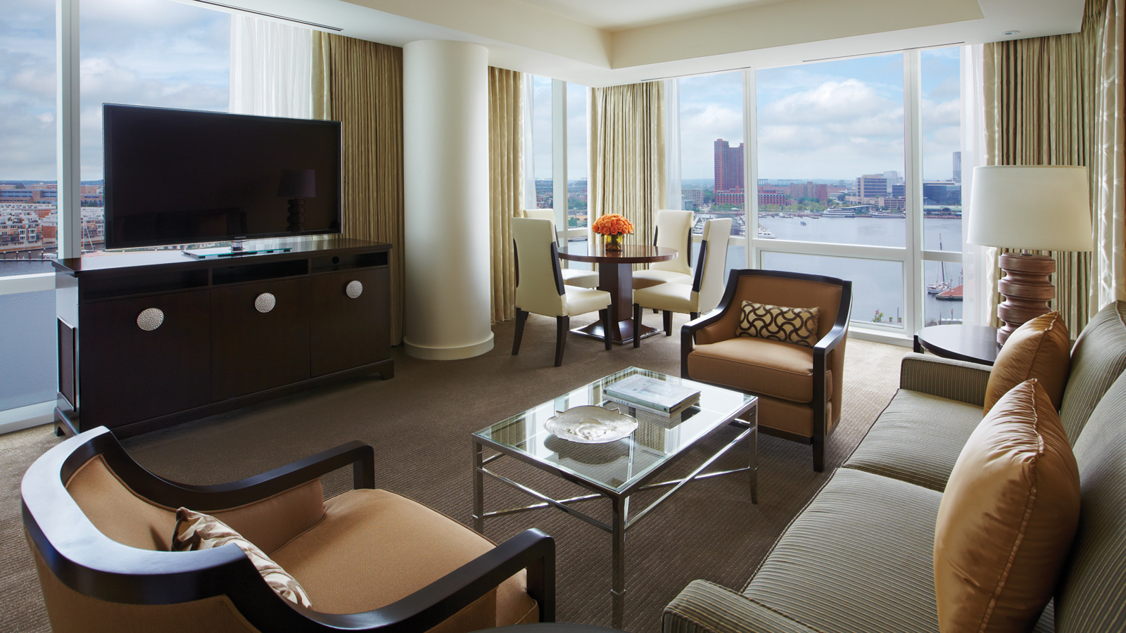 Four Seasons Baltimore Hotel Room