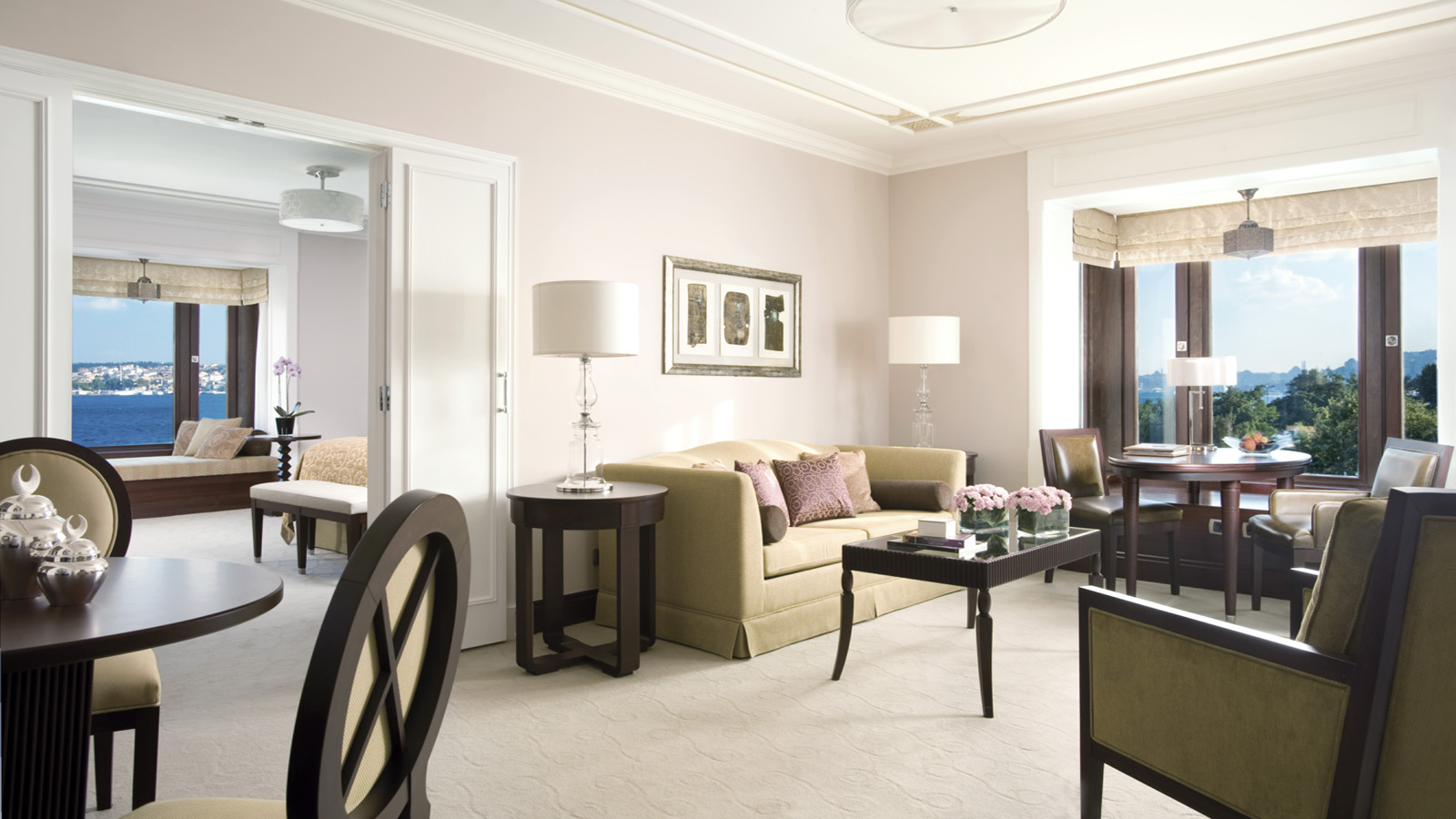 Istanbul Luxury Suite at Four Seasons Hotel at the Bosphorus