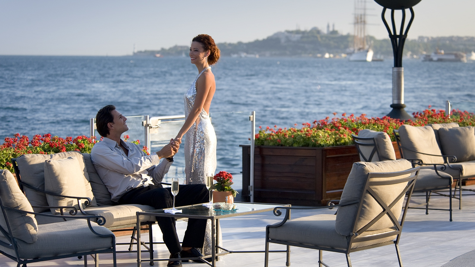 Honeymoon in Istanbul at Four Seasons Hotel at the Bosphorus