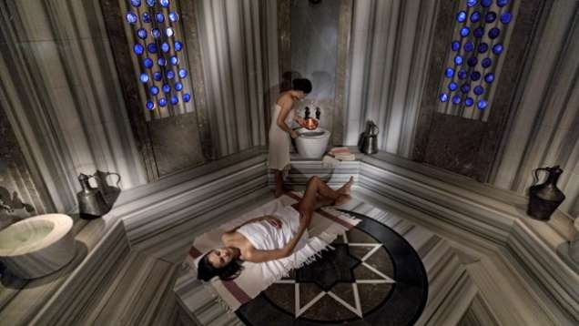 Hammam Spa in Istanbul at Four Seasons Hotel at the Bosphorus