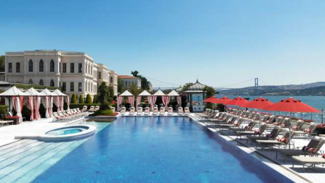 Pool at Four Seasons Hotels Istanbul