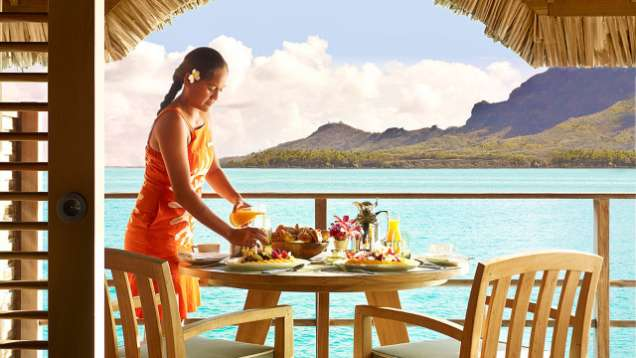 Bed and Breakfast Package at Four Seasons Resort Bora Bora
