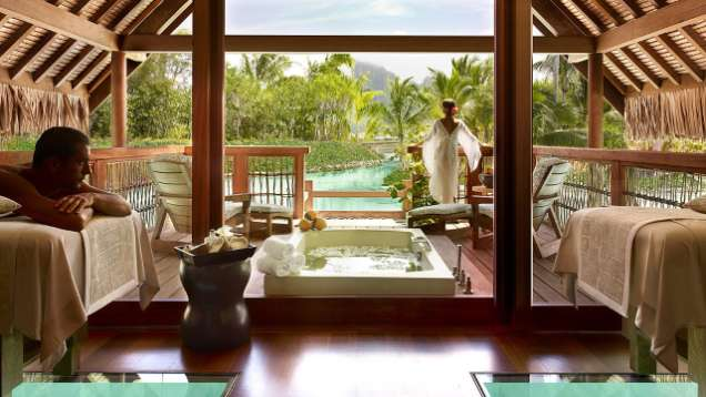 Kahaia Spa Suite at Four Seasons Resort Bora Bora
