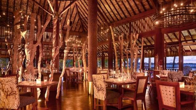 Arii Moana Bora Bora Restaurant Four Seasons Resort