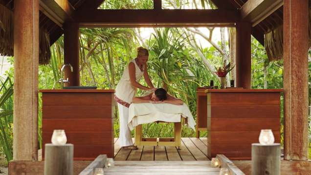 Massages at the Spa at Four Seasons Resort Bora Bora