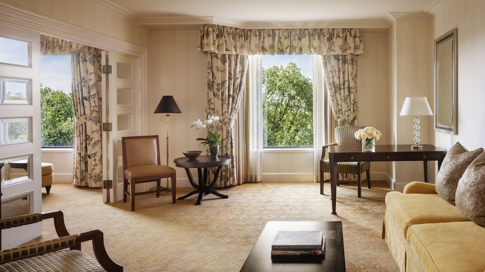 Garden-View Executive Suite at Four Seasons Hotel Boston