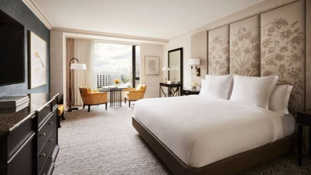 Habitaci n de lujo hotel de lujo en boston four - Fotos de habitaciones de lujo ...