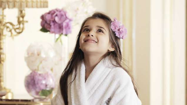 Kids Spa Treatments at Four Seasons Hotel Cairo at the First Residence