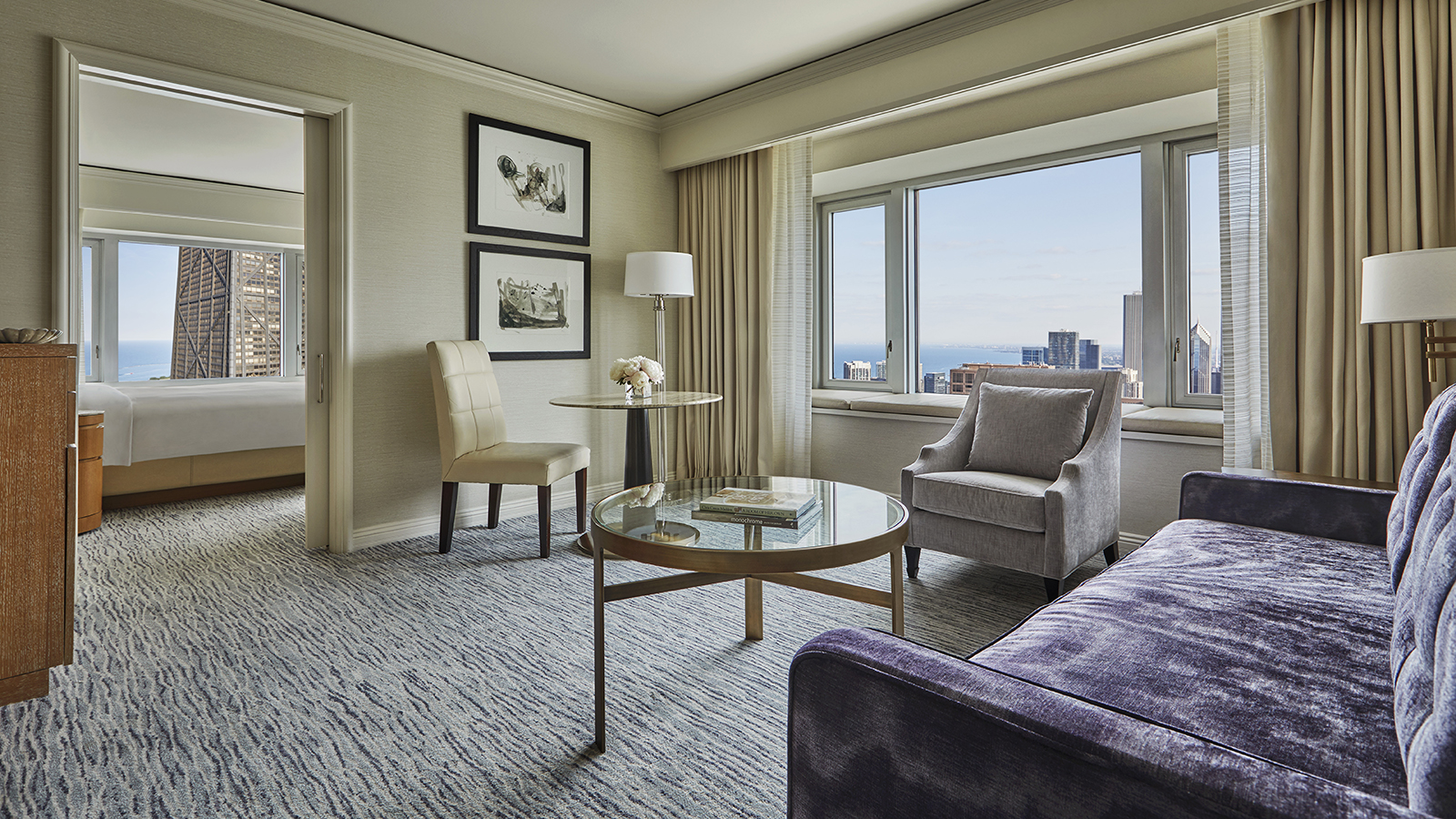 Our Stay Longer Package Gives You More Time To Enjoy The Hotelu0027s Luxurious  Accommodations And Magnificent Views, As Well As Chicagou0027s World Class  Shopping, ...