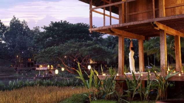 Yoga in the Spa at Four Seasons Resort Chiang Mai