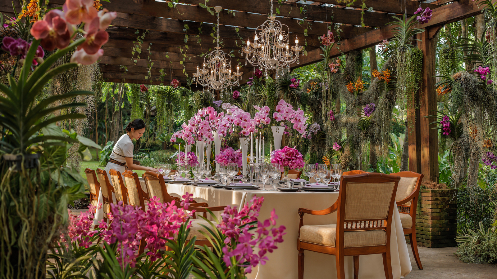 Experience Enchanted Gatherings In The Orchid Garden At Four Seasons Resort Chiang Mai