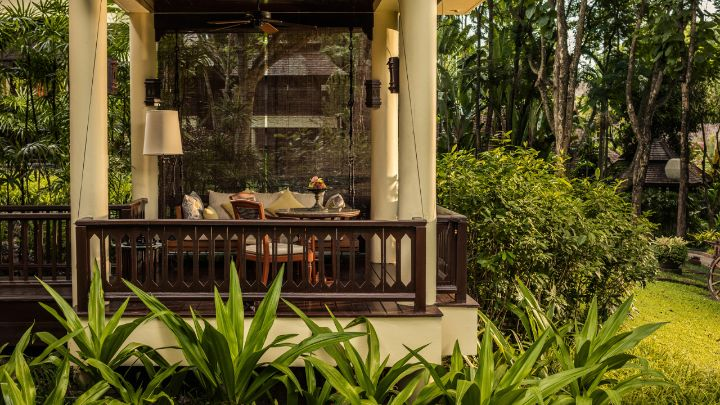 Luxury Garden Rooms Private Pavilion Four Seasons Chiang Mai