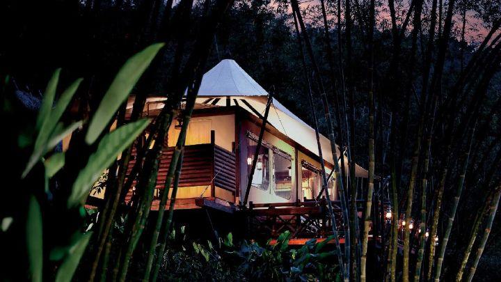 泰国套房和帐篷| 金三角四季帐篷酒店2k13-單人控制設定