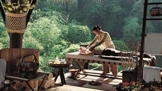 Traditional Thai Massages at the Spa at Four Seasons Tented Camp Golden Triangle