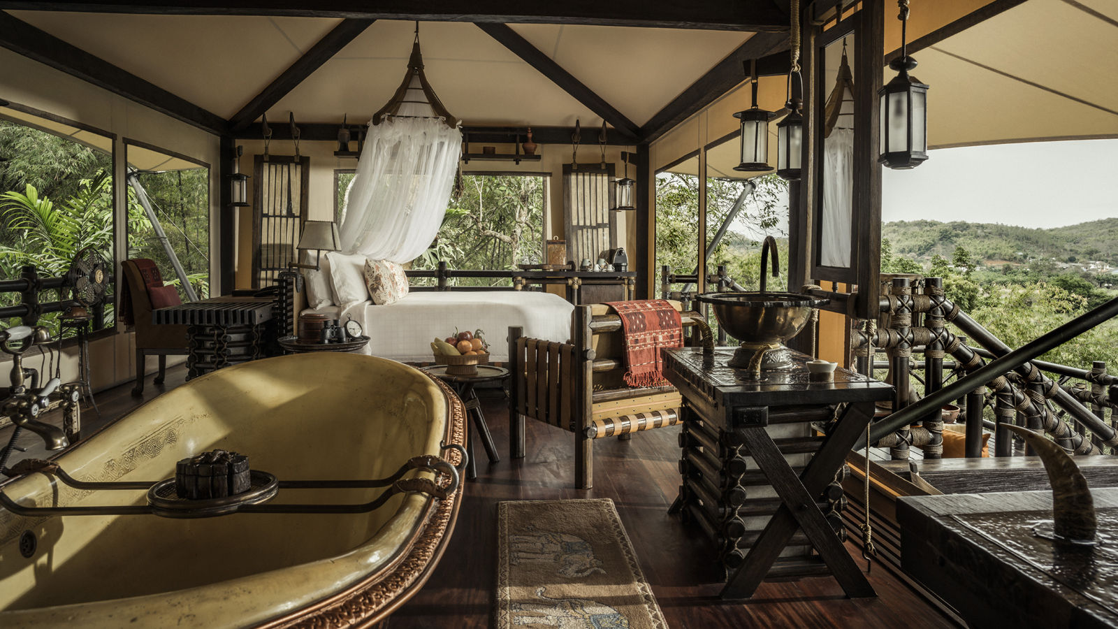 Enjoy Our Multiple Destination Packages Offered at Four Seasons Tented Camp Golden Triangle, a Luxury Tented Camp in the Golden Triangle, Thailand
