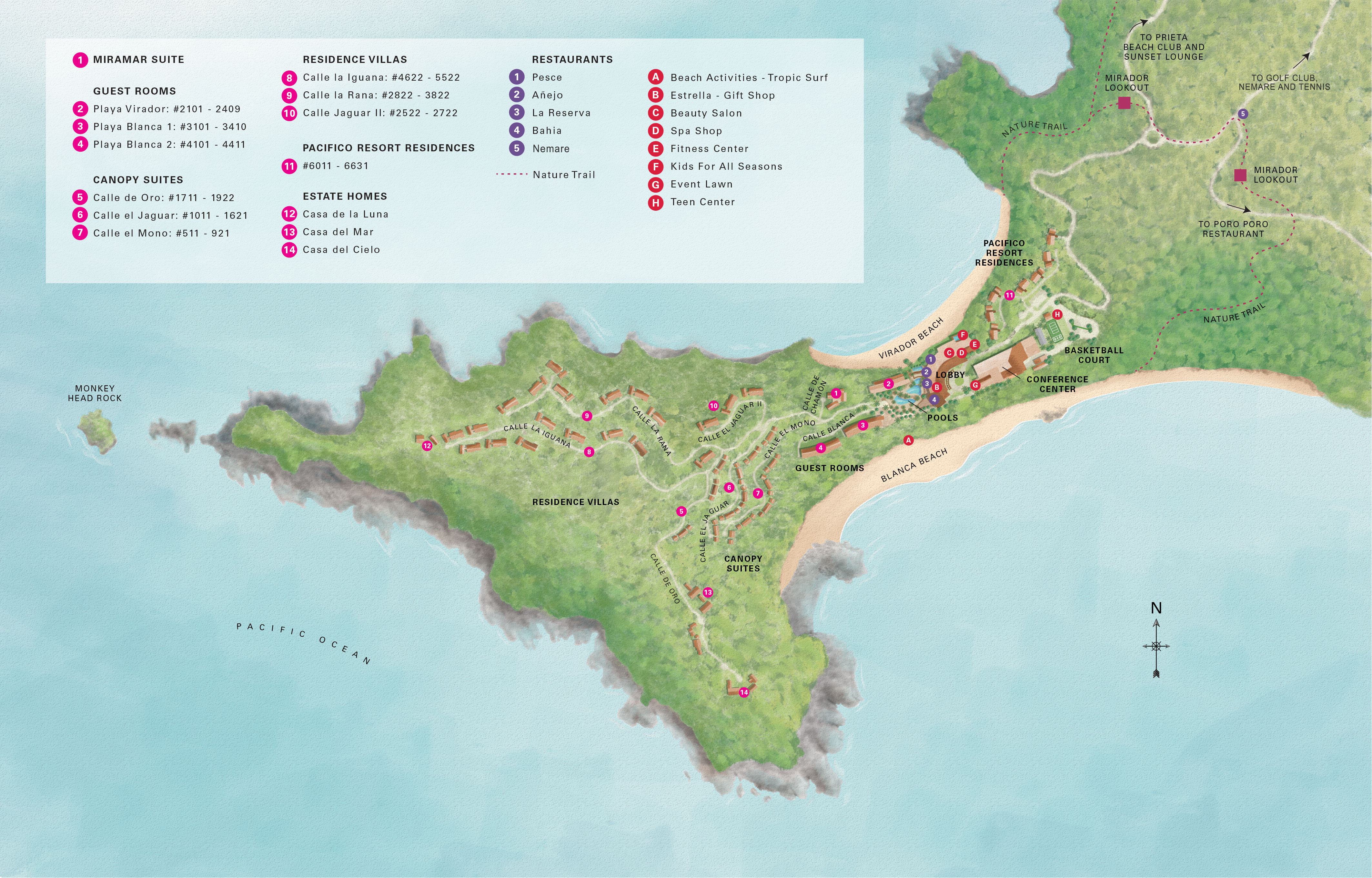 Costa Rica Map & Airport Directions   Four Seasons Resort