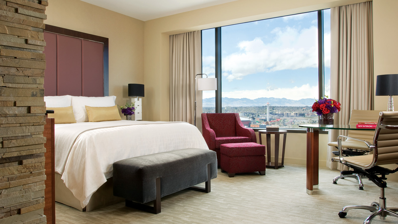 Deluxe Executive Room at Four Seasons Hotel in Downtown Denver