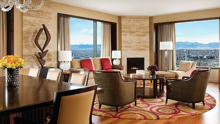 Located on the higher floors of the Hotel  the separate living room and  bedroom make the suites ideal for meetings or private entertaining. Premier One Bedroom Suite   Denver Suites   Four Seasons Denver