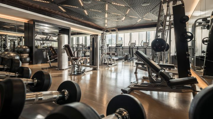 Fitness Facilities Four Seasons Dubai Difc
