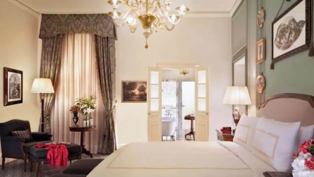 Parlour Suite at Four Seasons Hotel Florence