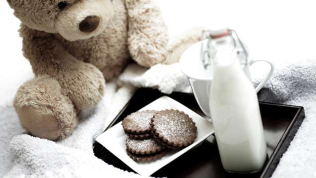 Milk and Cookies for Kids at Four Seasons Hotel Seoul