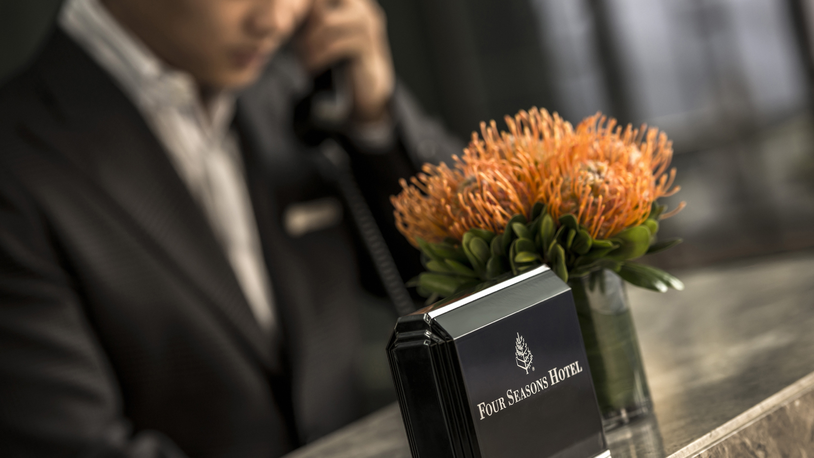 Concierge at Four Seasons Hotel Istanbul at Sultanahmet