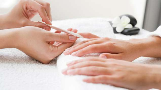 Hand and Foot Care at The Spa at Four Seasons Hotel Shanghai