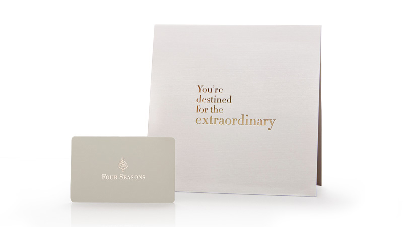 four seasons gift cards four seasons hotels and resorts