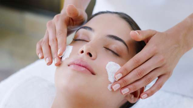 Facial Treatments in the Spa at Four Seasons Resort Bali at Sayan