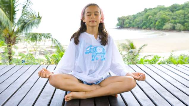 Kids Yoga at Four Seasons Resort Langkawi
