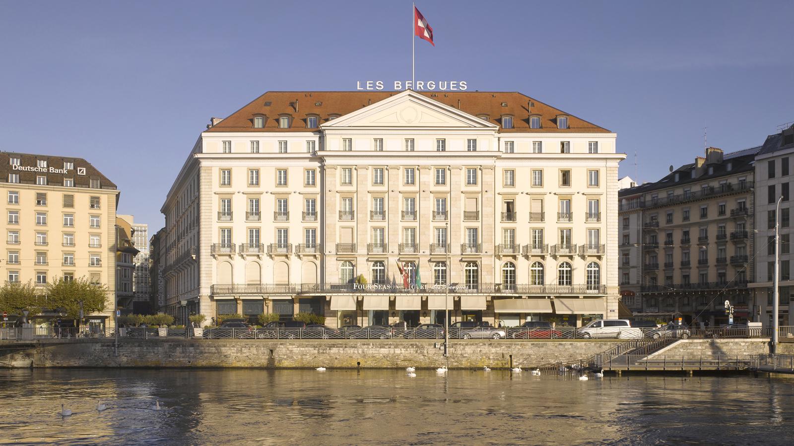 Geneva hotel receives prix bienvenu at four seasons des for Design hotel 16 geneva