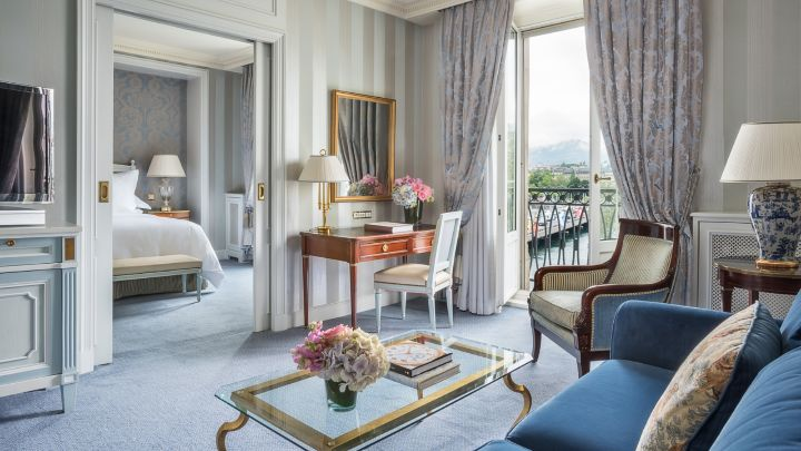 One Bedroom Suite In Geneva With A View Four Seasons Hotel