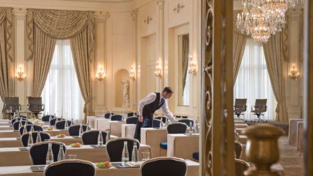 Geneva Wedding Venues at Four Seasons Hotel des Bergues Geneva