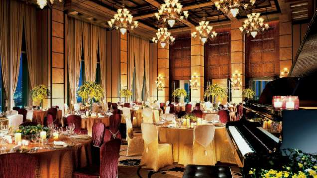 Function Rooms in Four Seasons Hotel Hong Kong, a Luxury Hotel in Hong Kong