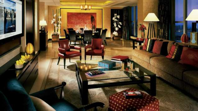 Premier Suite in Four Seasons Hotel Hong Kong, a Five-Star Hotel in Hong Kong