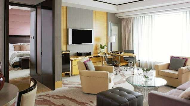Harbour-View Suite in Four Seasons Hotel Hong Kong, a Five-Star Hotel in Hong Kong