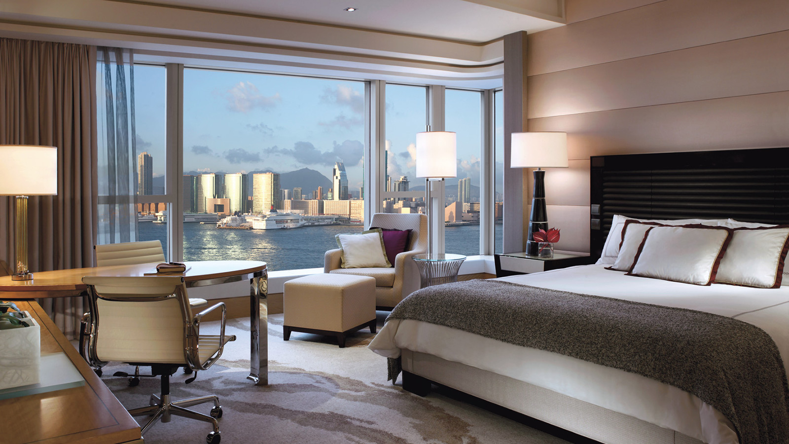 Check Out Room Rates at Four Seasons Hotel Hong Kong, a Luxury Hotel in Hong Kong