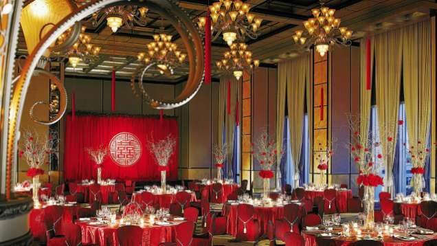 Grand Ballroom in Four Seasons Hotel Hong Kong, a Luxury Hotel in Hong Kong