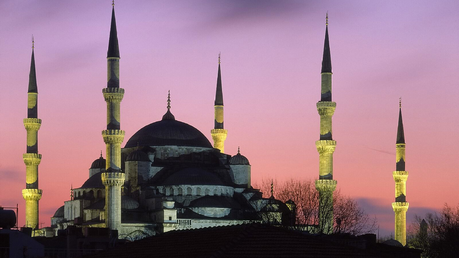Mosque near Four Seasons Hotel Istanbul at Sultanahmet