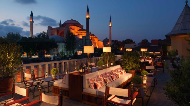 A Ya Rooftop Lounge Istanbul Bar Four Seasons At