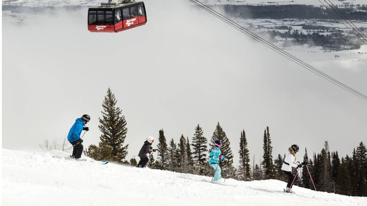 family getaways at the Four Seasons Jackson Hole