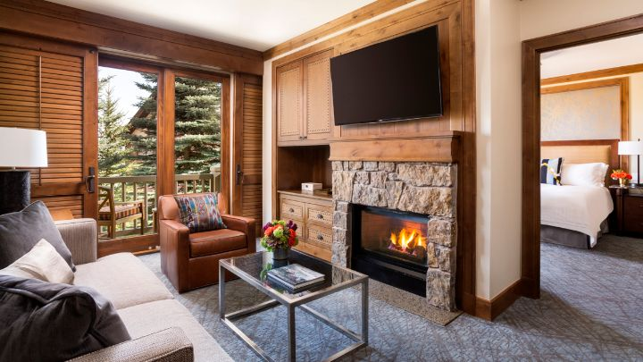 Jackson hole luxury suite teton village lodging four seasons for 2 bedroom suites in jackson hole wy