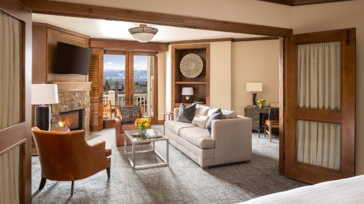 Suite in jackson hole teton village four seasons resort for 2 bedroom suites in jackson hole wy