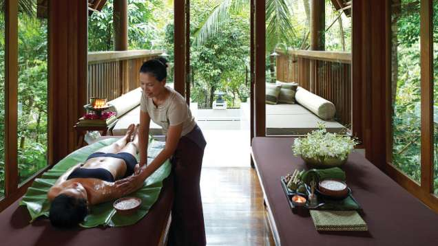 Body Treatments at the Spa at Four Seasons Resort Koh Samui Thailand