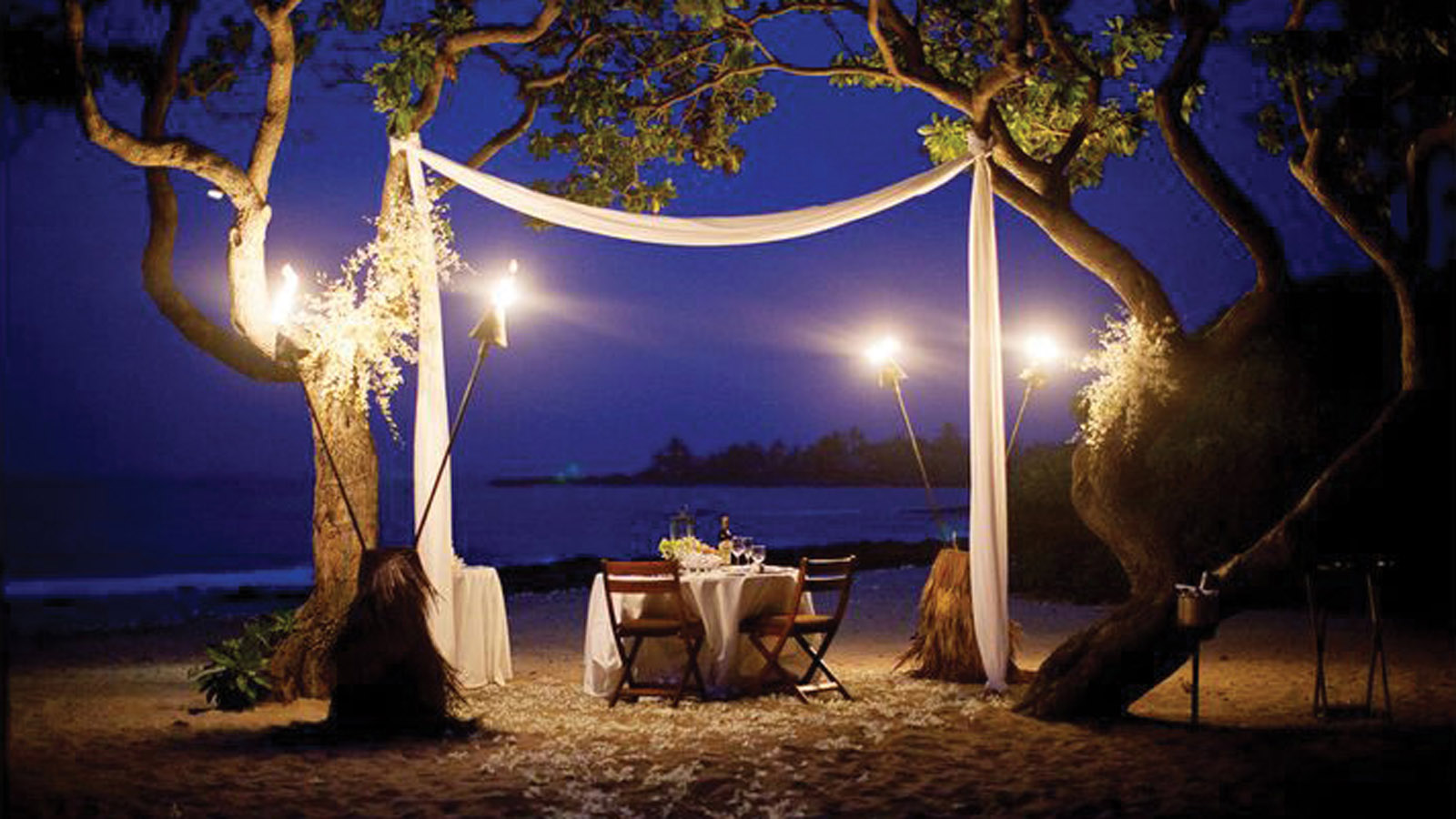 Couples Cooking Classes   Hualalai Romantic Dinner   Four ...